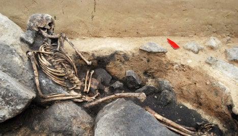 Train work uncovers Bronze Age bounty
