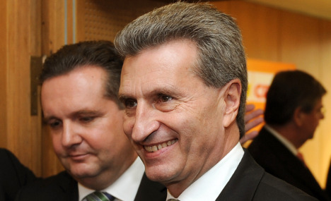 Doubts dog Oettinger appointment to Europe