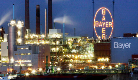 Bayer quarterly profit drops sharply