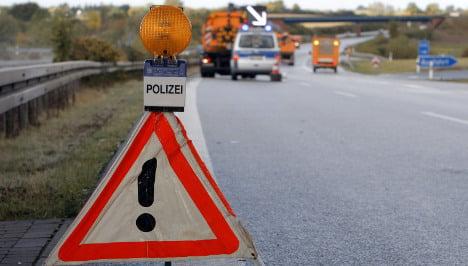 Retiree loses €20,000 in cash on autobahn
