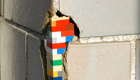 Repairing run-down buildings one Lego at a time