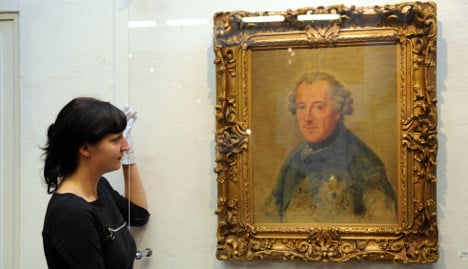 Frederick the Great portrait auctioned for €670,000