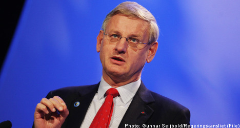 Bildt's inaction breeds suspicion in Israel