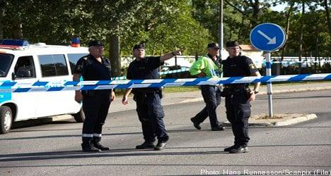 Man held over bomb threats in Skåne