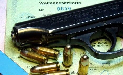 German army guns sold on Afghan black market