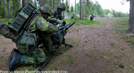 One-fifth of Swedish military conscripts 'fear for their lives'