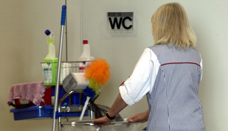 Custodial worker strike washes over Berlin