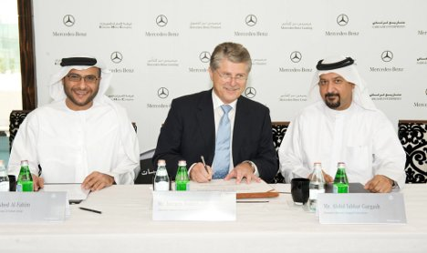Daimler starts Islamic financing for the United Arab Emirates