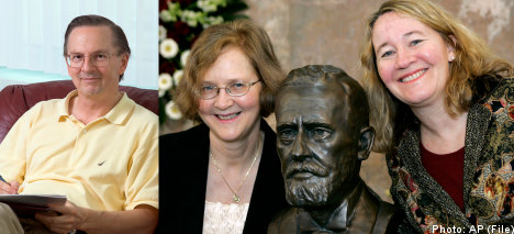 Nobel Prize for medicine split three ways