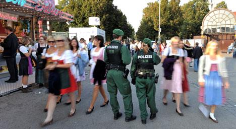Terror threats fail to derail the party at Oktoberfest