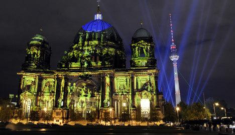 Berlin's 'Festival of Lights' begins