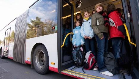 Eight injured in Bavarian bus crash