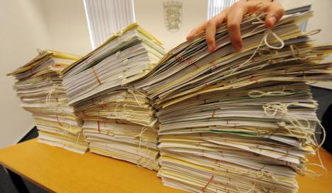 Going with Germany's bureaucratic flow