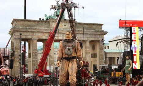 Giants rekindle the magic of German reunification