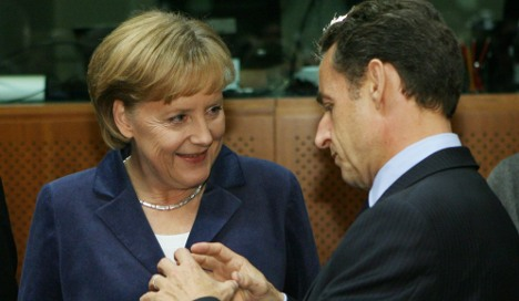 Merkel and Sarkozy bury Blair EU president idea