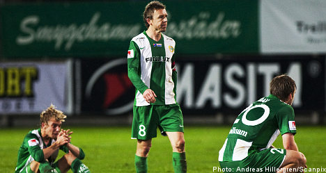 Hammarby relegated as AIK and IFK vie for title