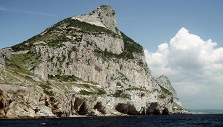 74-year-old German man swims Strait of Gibraltar