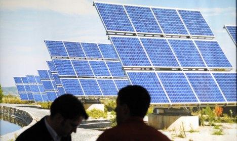 German solar energy firms face economic ruin