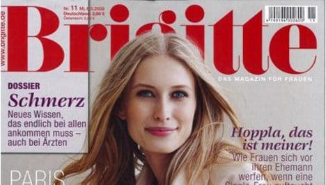 Fashion magazine 'Brigitte' goes model-free