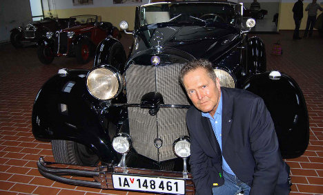 Antique car dealer finds Hitler's Mercedes