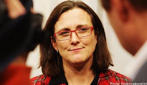 Malmström handed weighty policy portfolio