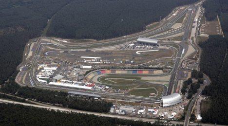 Police foil illegal nighttime race on Hockenheim race track