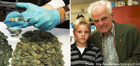 Treasure find granddad fuming over finder's fee
