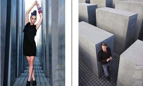 EasyJet recalls magazine with Holocaust memorial fashion shoot