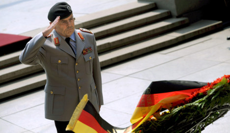 Bundeswehr chief of staff resigns over air strike