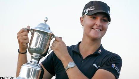 Sweden's Nordqvist claims second LPGA tournament title
