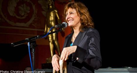 Sarandon receives Stockholm film fest award