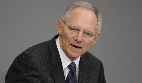 Financial crash as significant as fall of Berlin Wall, says Schäuble