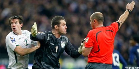 Swedish ref on handball goal: 'It wasn't my fault'