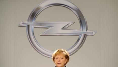 Germany saved dying Opel: Merkel