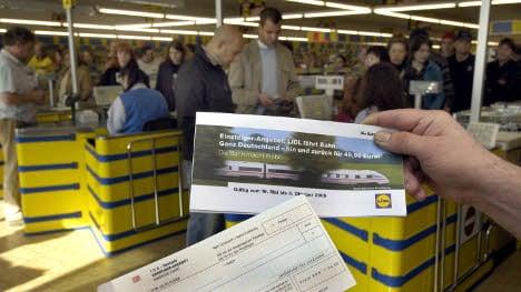 Lidl to offer deep discounts on Deutsche Bahn tickets