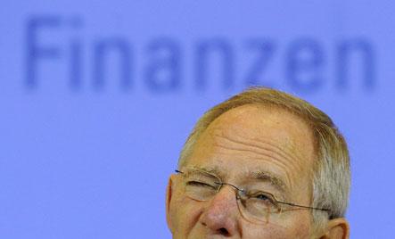 Schäuble says German deficit to surge in 2010