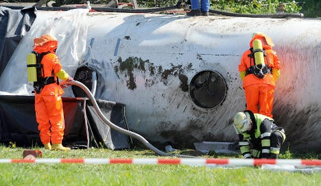 Tanker spills 8,000 litres of lubricant on A1 motorway