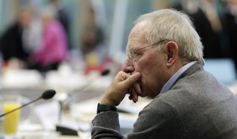 Schäuble defends record new debt in 2010 budget