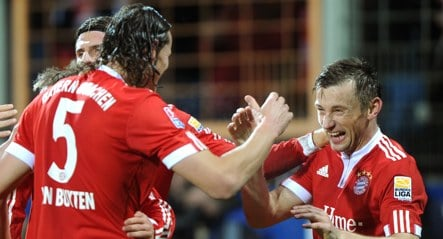 Five-star Bayern back in the title hunt