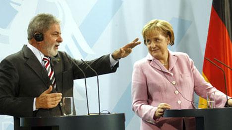 Merkel expecting major climate change effort at Copenhagen talks