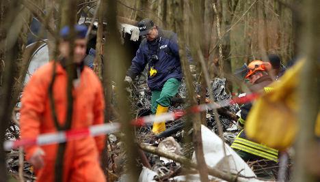 Three bodies found in plane crash near Frankfurt