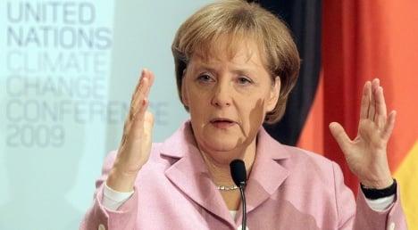 Merkel shows her dismay in Copenhagen