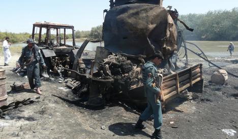 US pilot opposed German Afghan attack orders