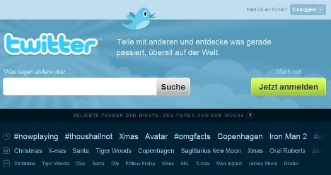 Twitter introduces German service