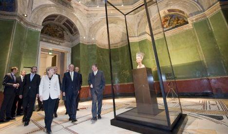 Museum chief says Egypt has not demanded Nefertiti's return