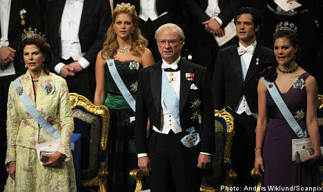Pomp aplenty as winners gather for Nobel gala