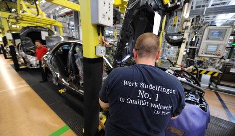 Daimler: Sindelfingen jobs safe until 2020