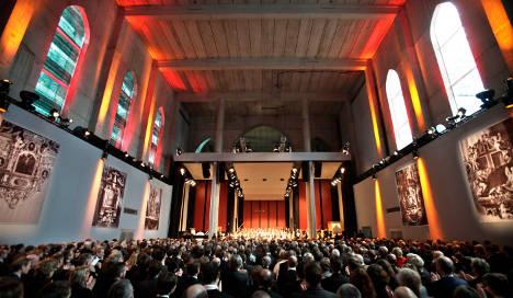 Leipzig University celebrates 600th anniversary amid student protests