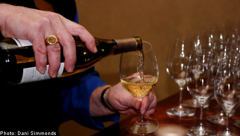 Sweden heads toward new wine sales record