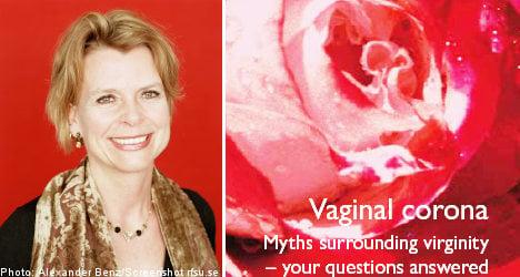 Swedish group renames hymen 'vaginal corona'